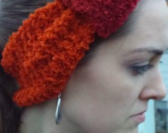 Multicolor Orange Headband