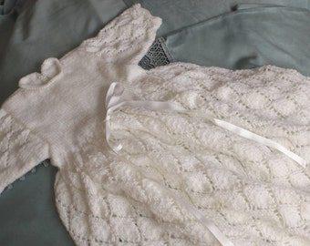 very long christening dress 6-9 months