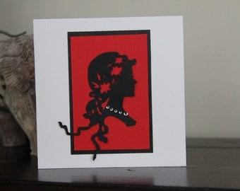Ladies Greeting Card