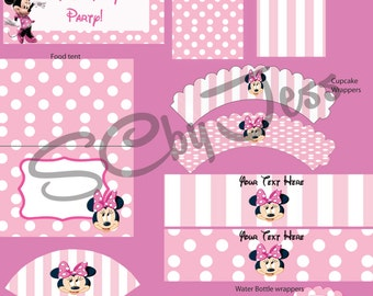 Minnie Mouse Party Printable