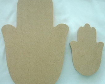 Hamsa Hand Mosaic Surface