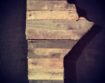 """15"""" Reclaimed Wood Lath Province of Manitoba"""
