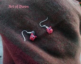 Little piglets earing