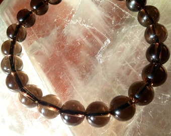 BOXING WEEK Sale 50% Off Smokey Quartz bracelet
