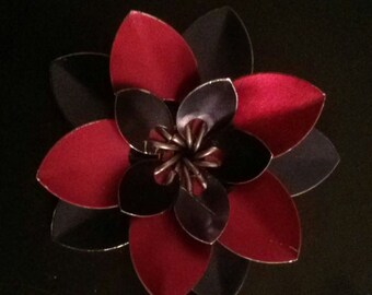 Large triple scale flower accessory/decoration