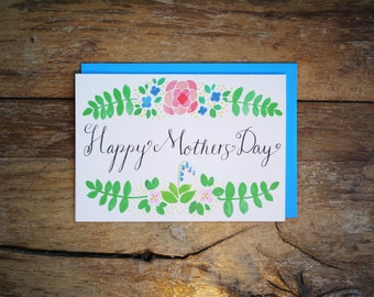 Blue Bell Mothers Day Card