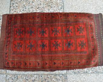 Vintage Yaqoob Khani Tribal Baluch Cushion Cover