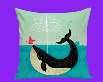 Popular Items For Whale Pillow On Etsy