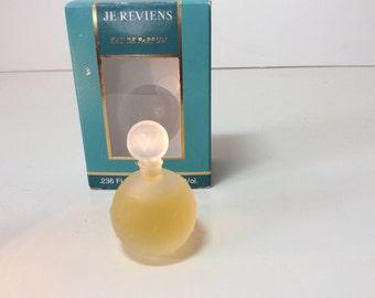 "Perfume mini, ""Je Reviens "" by Worth"