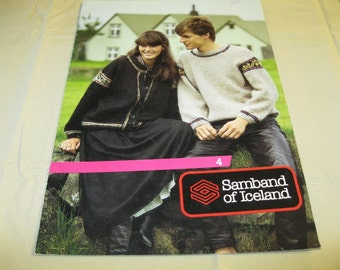 Samband of Iceland Booklet #4 - Sweater Patterns for Men, Women and Children