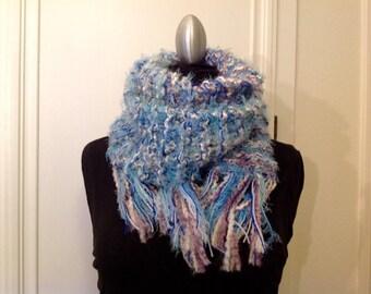 Super soft chunky scarf
