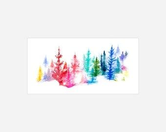TREES - Archival Print
