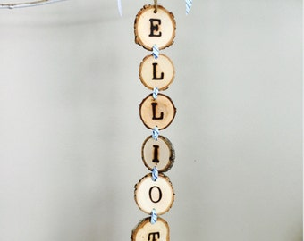 Personalized Name hanging