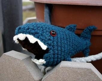 Samuel | Digital Crochet Pattern | Amigurumi Shark