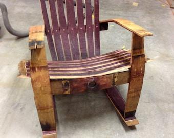 wine barrel chairs – Etsy