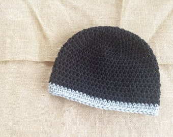 Mens Beanie, Mens Crochet Beanie, Mens Hat, Mens Winter Hat, Mens Crochet Hat
