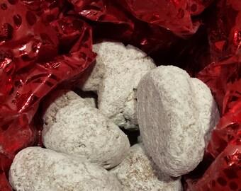 Sans gluten libre Pfeffernusse en poudre délicieux Cookies