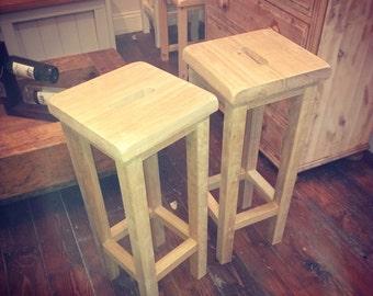 Pine or Oak Bar stool