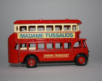 Vintage toy bus, made by Days Gone Lledo