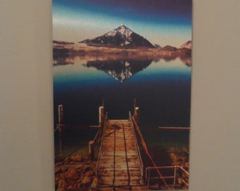Metal Print, The Lake, 8x12