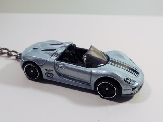hot wheels porsche spyder 918 die cast car by keychainsbybrad. Black Bedroom Furniture Sets. Home Design Ideas