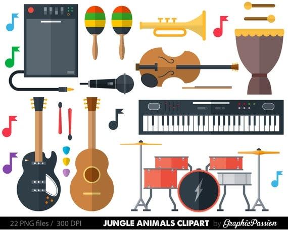 Musical Instrument Clipart Clip Art music clipart music ...