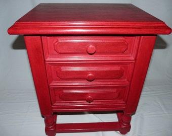 Wood cabinet vintage shabby nostalgia
