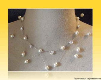 marriage spark Ivory Pearl Necklace