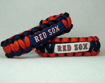 Boston Red Sox MLB Paracord Bracelet