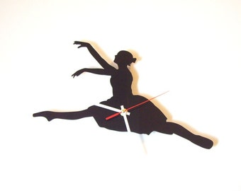 "Acrylic wall clock ""Ballet dancer"""