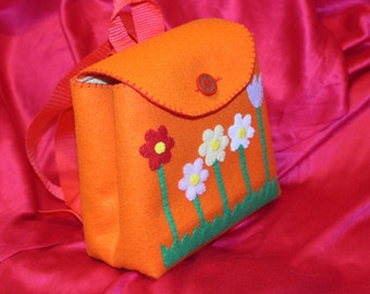 "Children's backpack ""Flowers"""