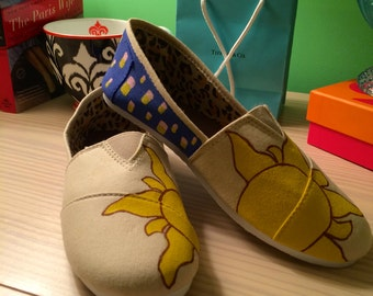 Disney's Tangled Inspired Canvas Shoes
