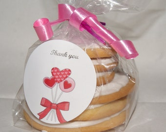 Cookie Sample - Decorated Sugar Cookies, Homemade, edible, Royal Icing Cookies, sample cookies, Cookie favor, Thank you gift, gift for her