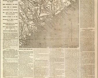 24x36 Poster; Nyh 1862 Movement Near Charleston, South Carolina