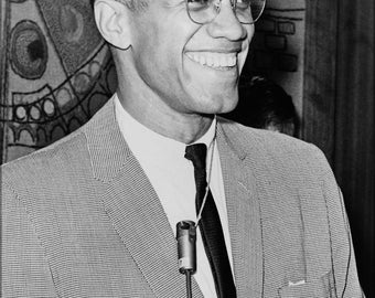 24x36 Poster; Malcolm X 1964