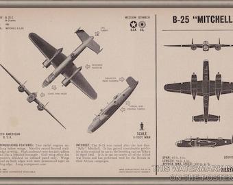 24x36 Poster; B-25 Mitchell P2