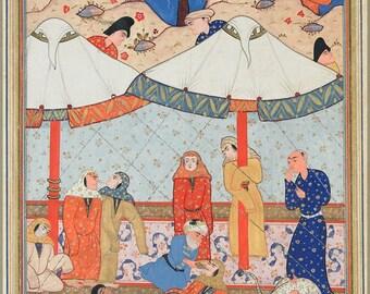 24x36 Poster; Layla And Majnun Described In The Third Book Of Nizami'S Khamsah (
