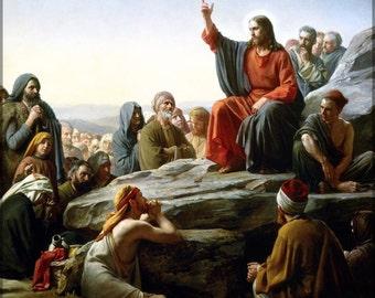 24x36 Poster; Sermon On The Mount