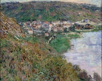 24x36 Poster; Claude Monet - View Of Vetheuil