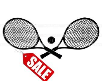 Premium Tennis clipart, vector graphics, digital clip art, digital images