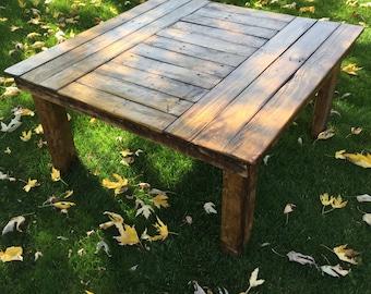 Rustic Refurbished Coffee Table