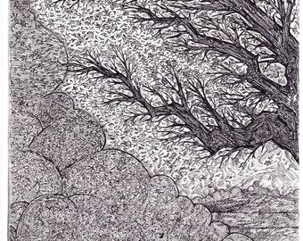 "Original Artwork ""windswept"""