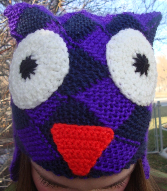 Woven Owl Hat
