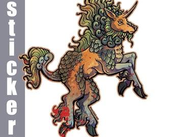 Kirin Sticker