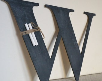 world book day chalkboard letters rustic shabby chic wedding letter large wooden letter black distressed primitive wedding dcor