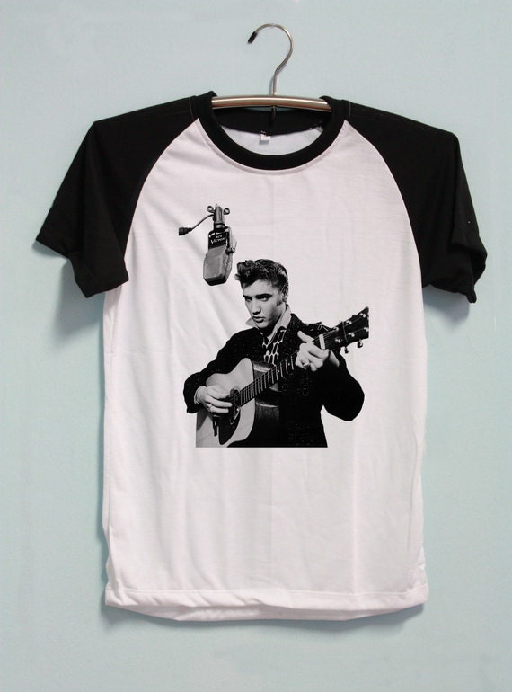 Elvis Presley Shirt Tshirt Short Sleeve Unisex By Pennapa8899