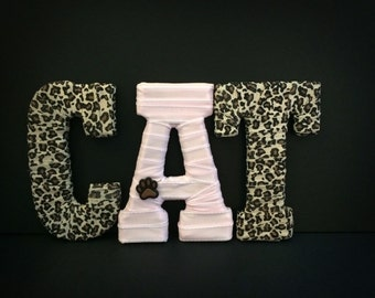 Pet Lover Gift, Personalized Pet Memorial, Gifts for Pet, Custom Pet Name Letters, Pet Gift Basket, Tightly Wound Designs
