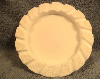 Imperial Glass Milk Glass Large Ash Tray