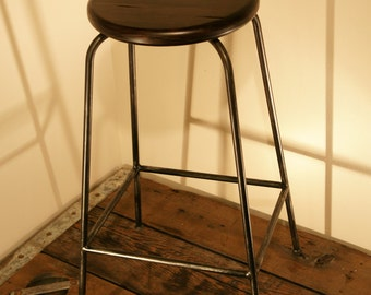 "Industrial, Reclaimed ""look"" kitchen stools"