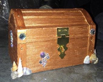 Treasure Chest Jewelry box